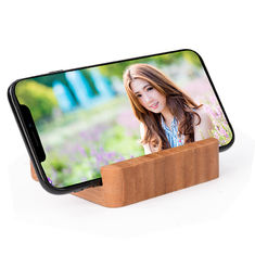 China Mini Bamboo Wooden Power Bank , 120g 5200mAh Power Bank Charger supplier
