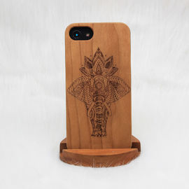 China Rare Wood iPhone Case / Wooden Smartphone Case Customized Design Supported supplier