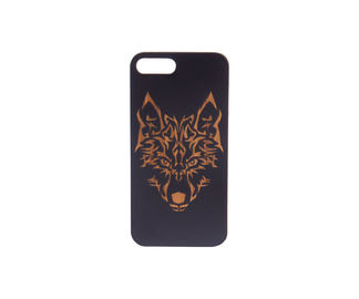 China iPhone 6 / iPhone 6 Plus Wood Carved Phone Case Shockproof in Simple Style supplier