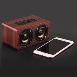 China Classic Design Home Wireless Wood Effect Bluetooth Speaker N / A Certificated supplier