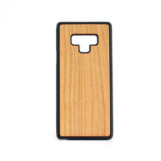China Natural Wood Color Samsung Wood Case , Note 9 Bamboo Cell Phone Cover supplier