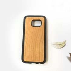 China Samsung S7 Wood Cell Phone Case , Bamboo Texture Wooden Phone Cover supplier