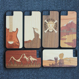 China 100% Handmade Wood iPhone Case Ultra Slim iPhone All Models Usage supplier