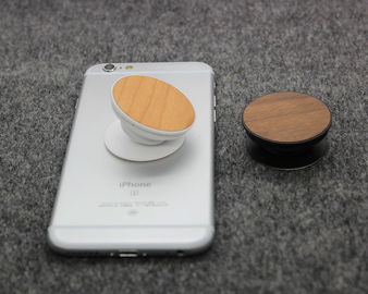 China Cherry / Walnut Wood Airbag Phone Holder Custom Logo and Design Supported distributor