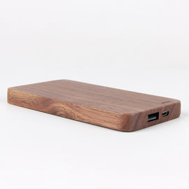 China 12V Motor Emergency Start Wooden Power Bank , 8000mAh Wood Casing USB Power Bank factory