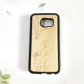 China TPU Wood Samsung Galaxy Case Anti - Static Custom Design Available distributor