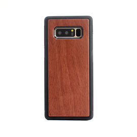 China Shockproof Samsung S8 Plus TPU Wooden Phone Covers Handmade Type distributor