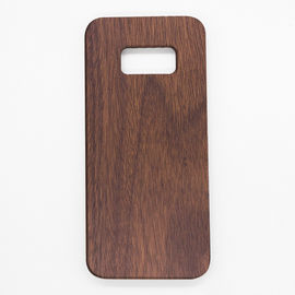 China Customized Laser Engraving Samsung Wood Case S8 Model Soft PC Back Case distributor