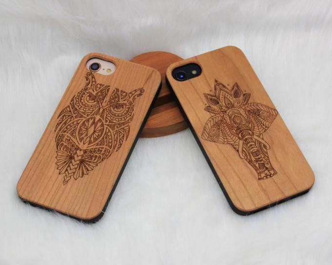 Rare Wood iPhone Case / Wooden Smartphone Case Customized Design Supported