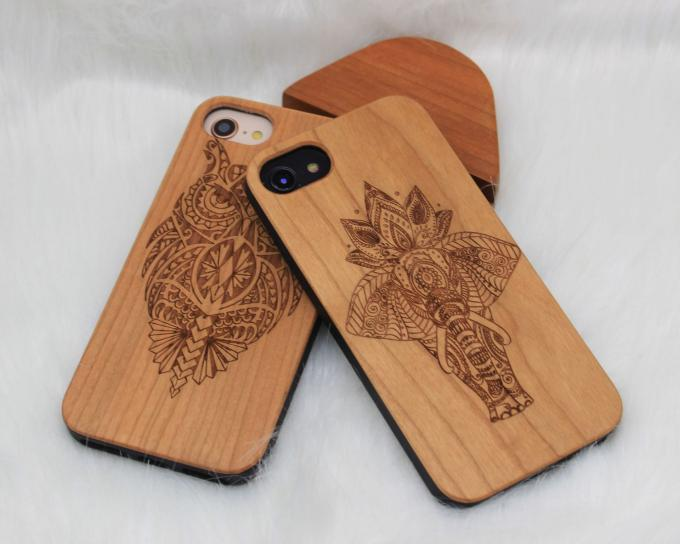 Natural Wood iPhone Case Apple iPhone 7 / 7 Plus Model N / A Certificated