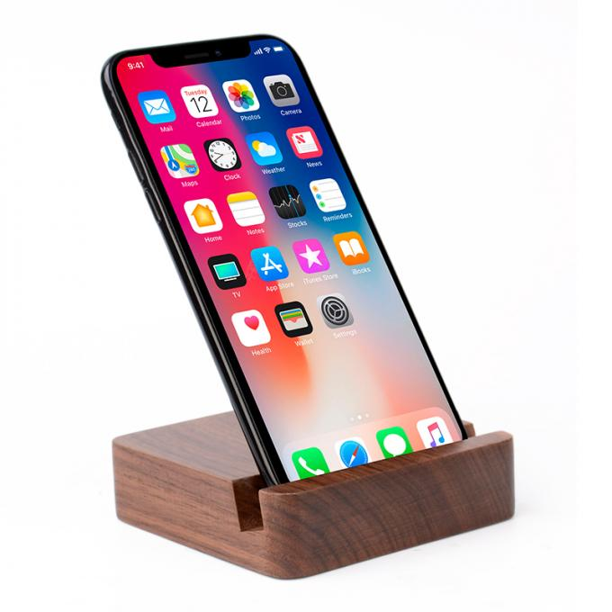 5200mAh Emergency Wooden Phone Charger , Ultra - Thin Easy Carry Power Bank